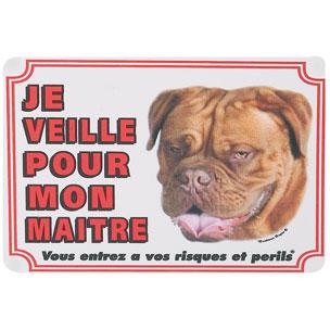 PANNEAU PVC DOG DE BORDEAUX