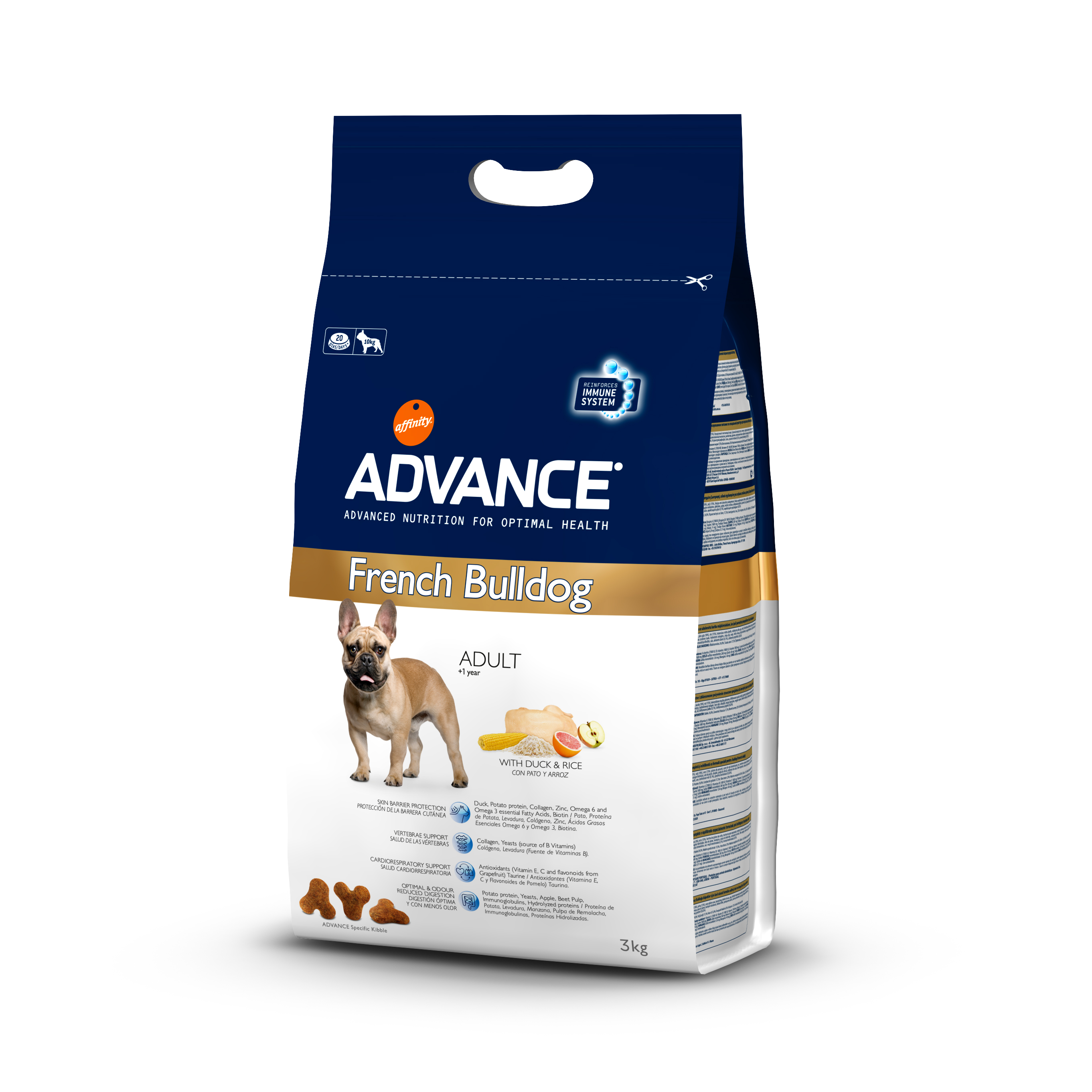ADVANCE ADULT BULLDOG FRANCAIS
