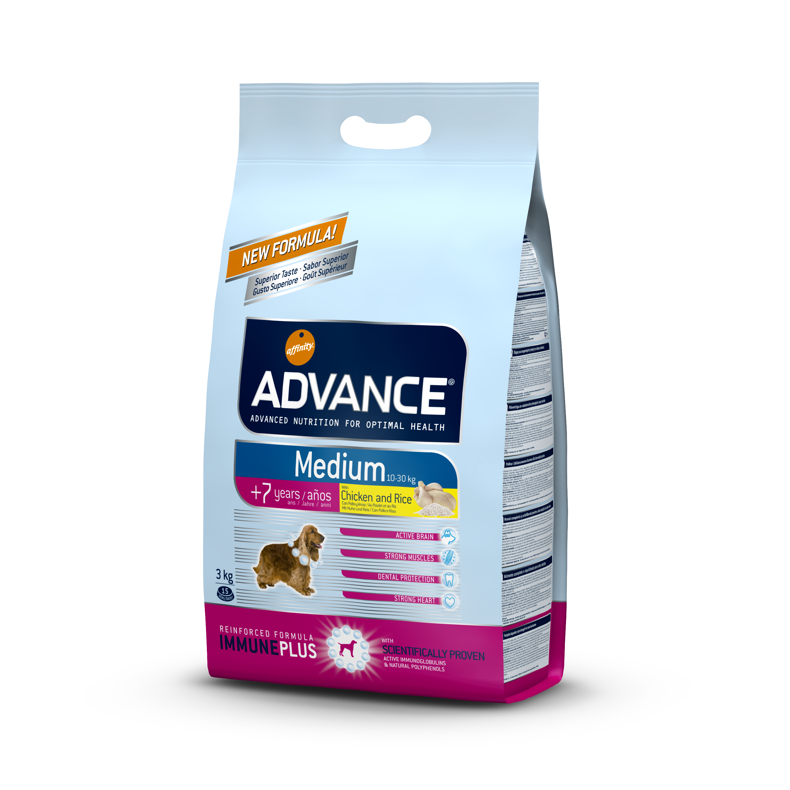 ADVANCE ADULT MEDIUM +7