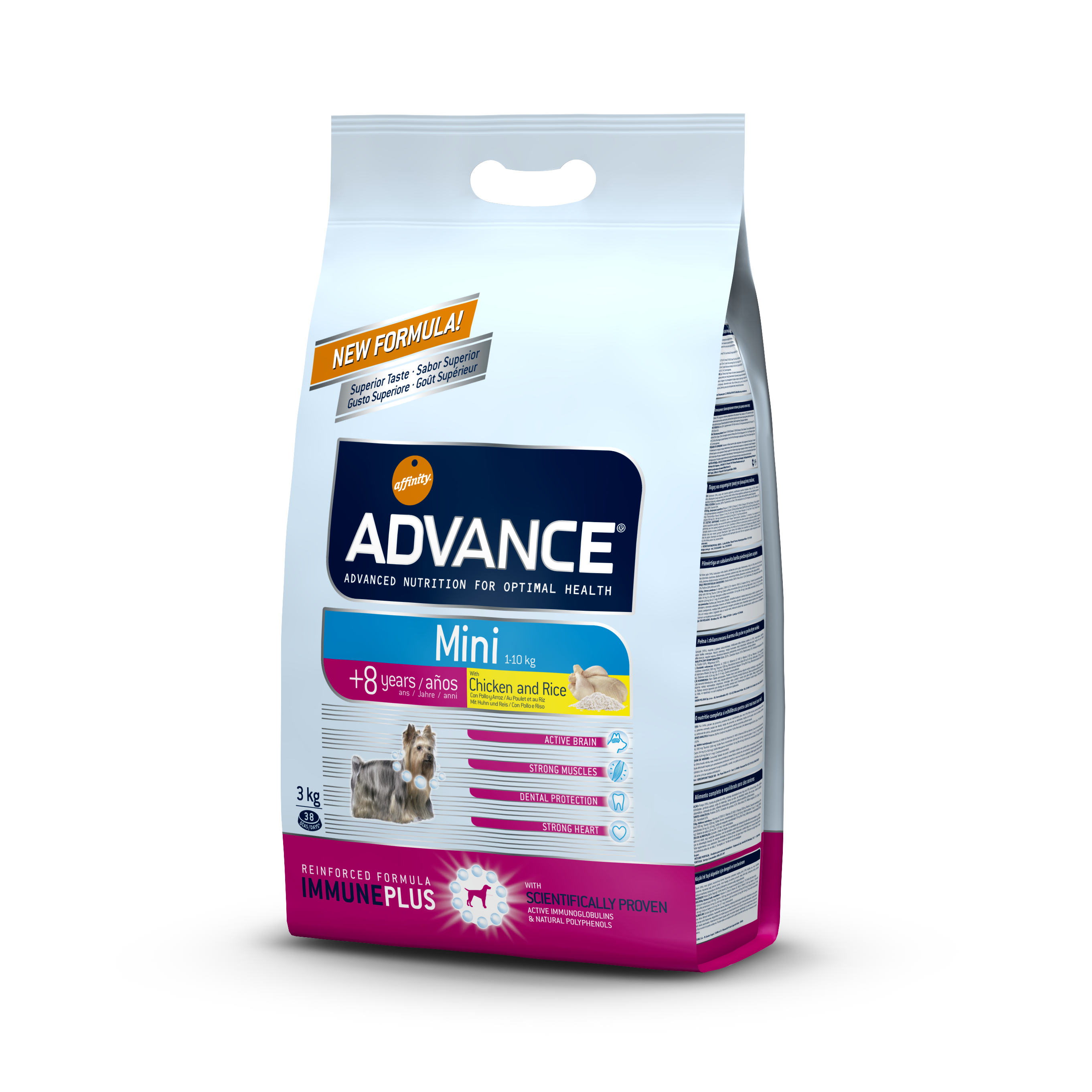 ADVANCE ADULT MINI +8