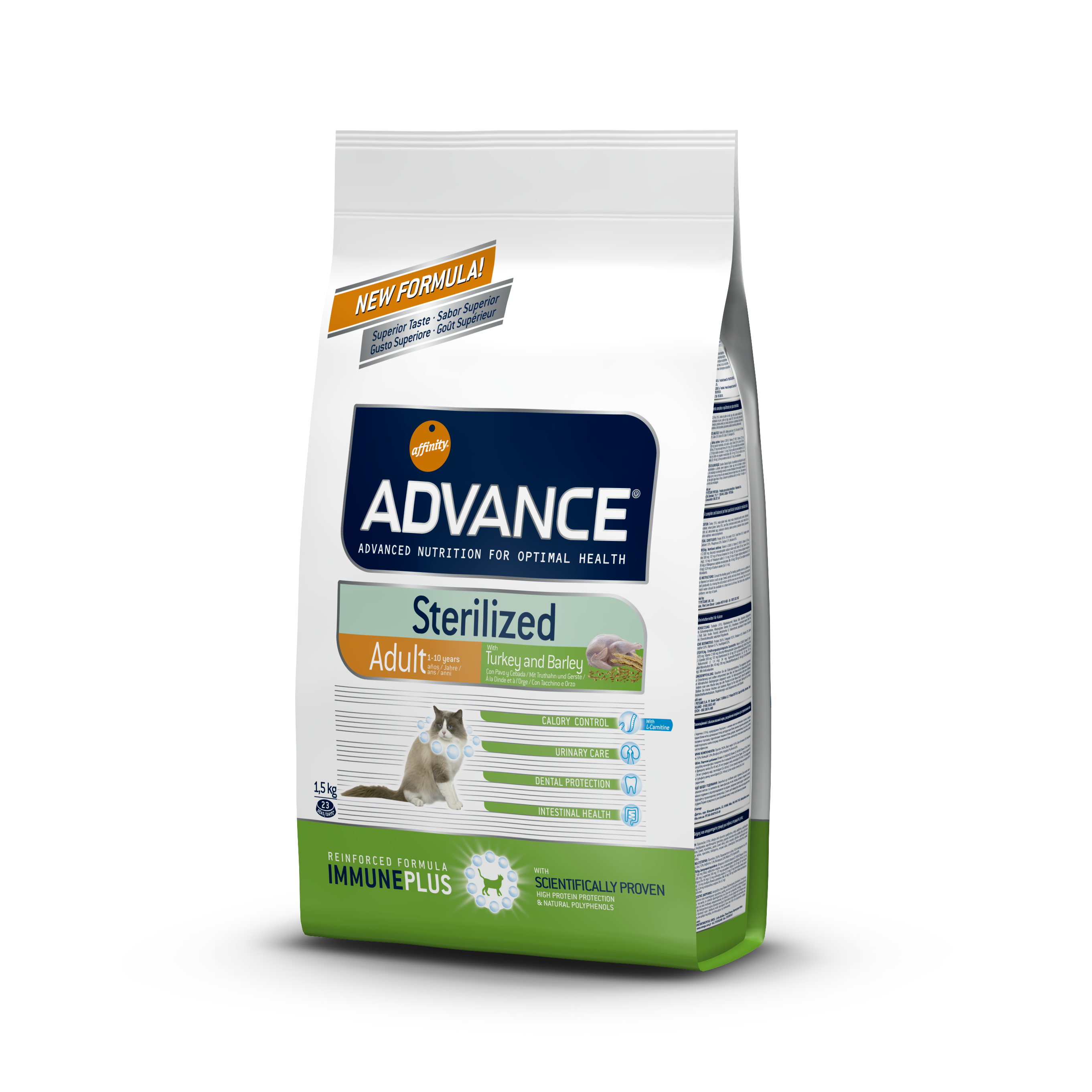 ADVANCE STERILIZED DINDE & RIZ