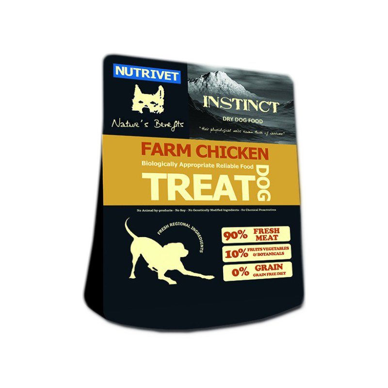 NUTRIVET INSTINCT FARM CHICKEN