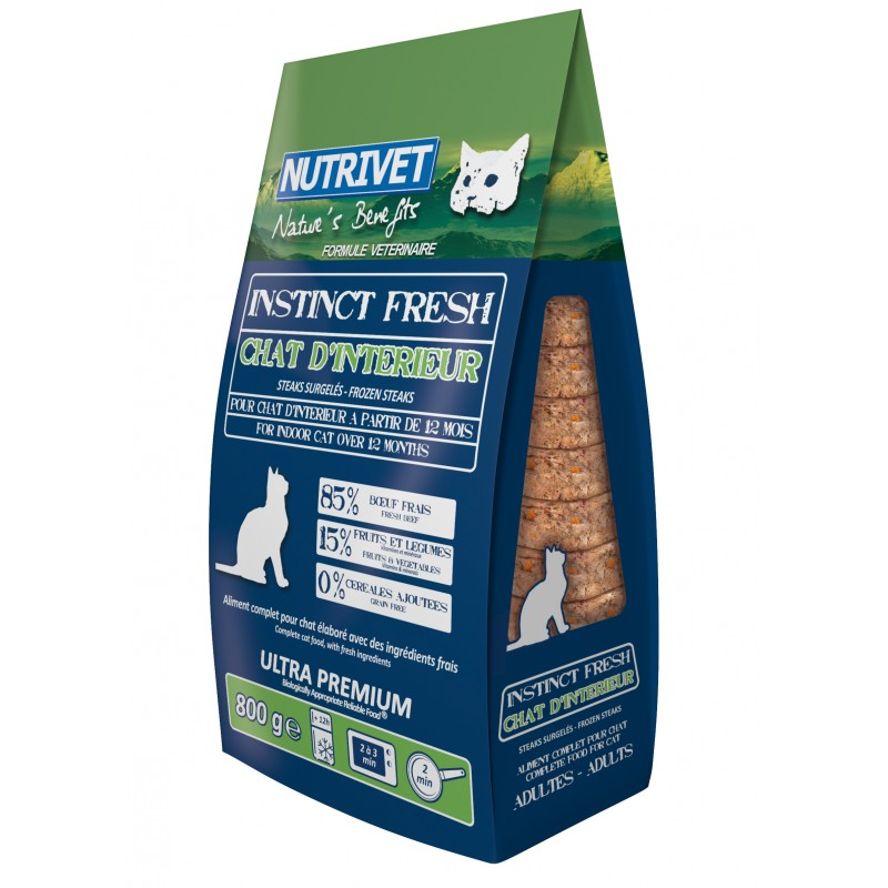 NUTRIVET INSTINCT FRESH CHAT D'INTERIEUR