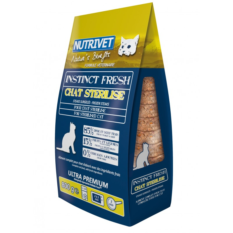 NUTRIVET INSTINCT FRESH STERILISED