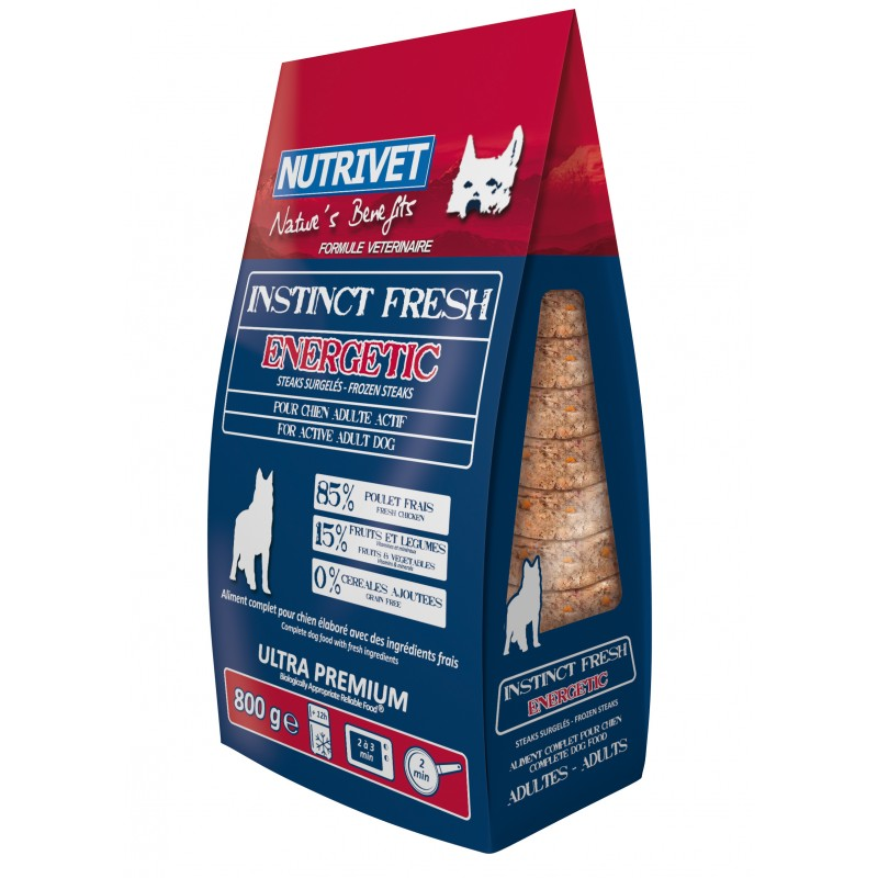 NUTRIVET INSTINCT FRESH ENERGETIC