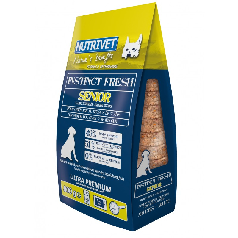 NUTRIVET INSTINCT FRESH SENIOR