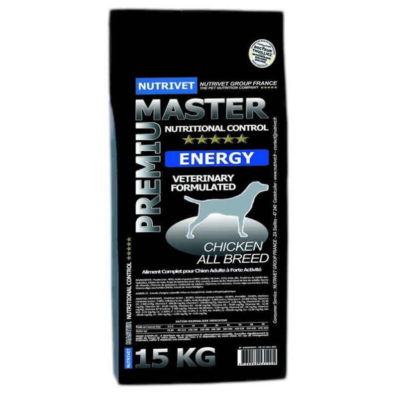 NUTRIVET MASTER PREMIUM ENERGY