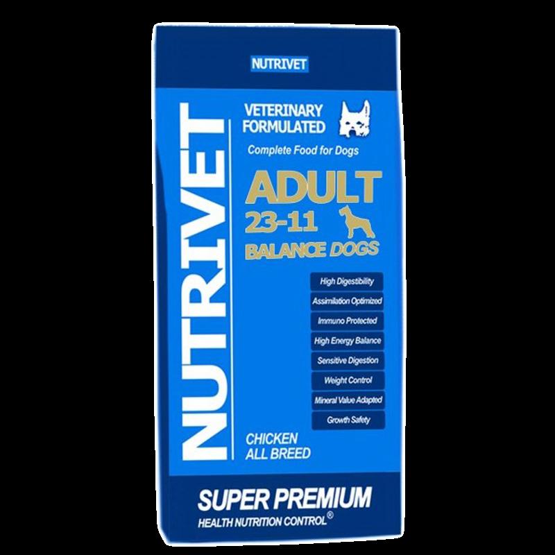 NUTRIVET SUPER PREMIUM BALANCE 23-11