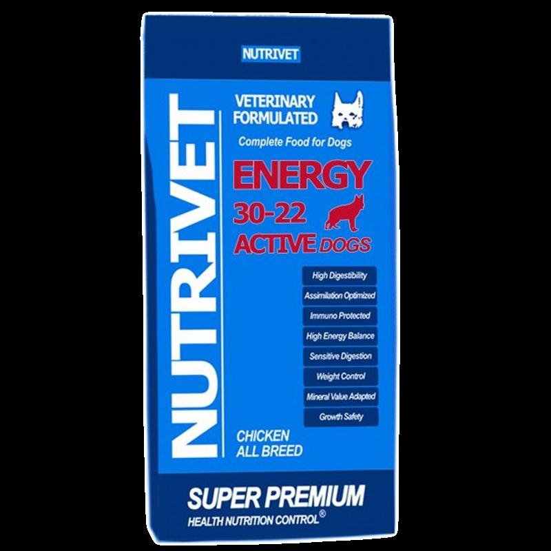 NUTRIVET SUPER PREMIUM ENERGY 30-22