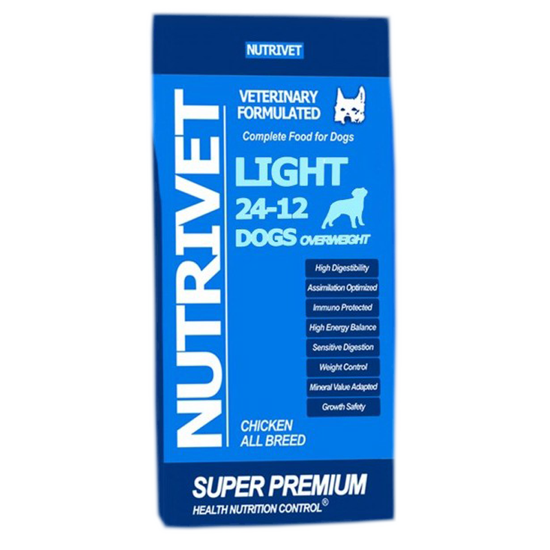 NUTRIVET SUPER PREMIUM LIGHT 24-12