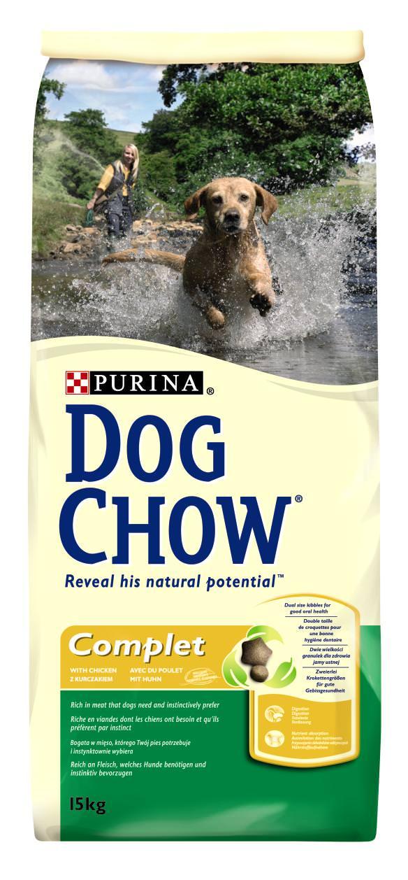 PRO PLAN DOG CHOW ADULT COMPLET POULET & RIZ