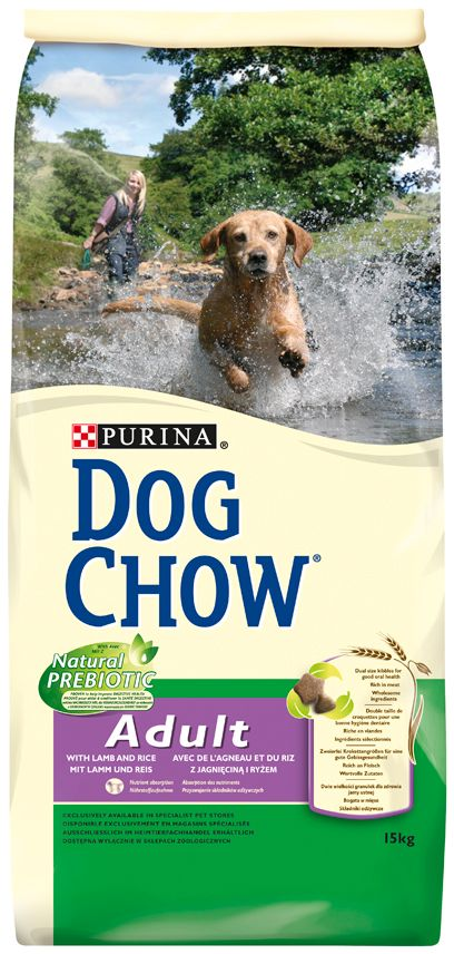 PRO PLAN DOG CHOW ADULT AGNEAU & RIZ