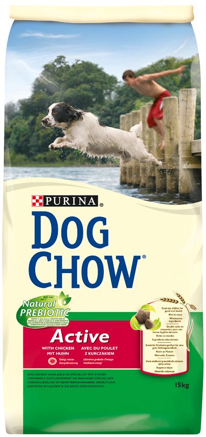 PRO PLAN DOG CHOW ACTIVE POULET & RIZ