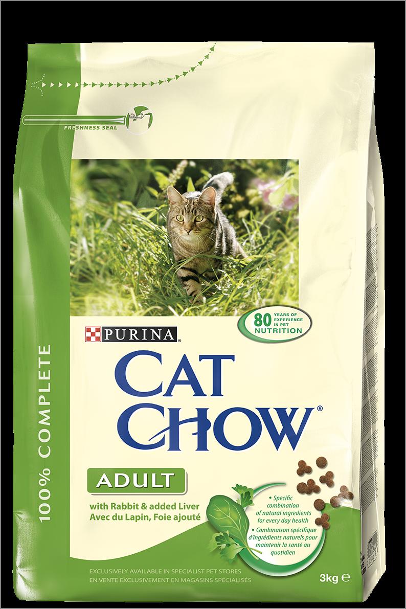 PRO PLAN CAT CHOW ADULT  LAPIN & RIZ