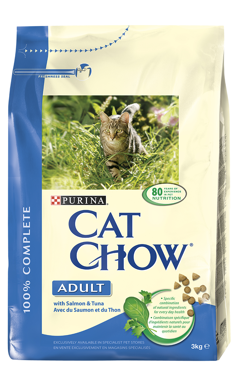 PRO PLAN CAT CHOW ADULT  SAUMON & RIZ