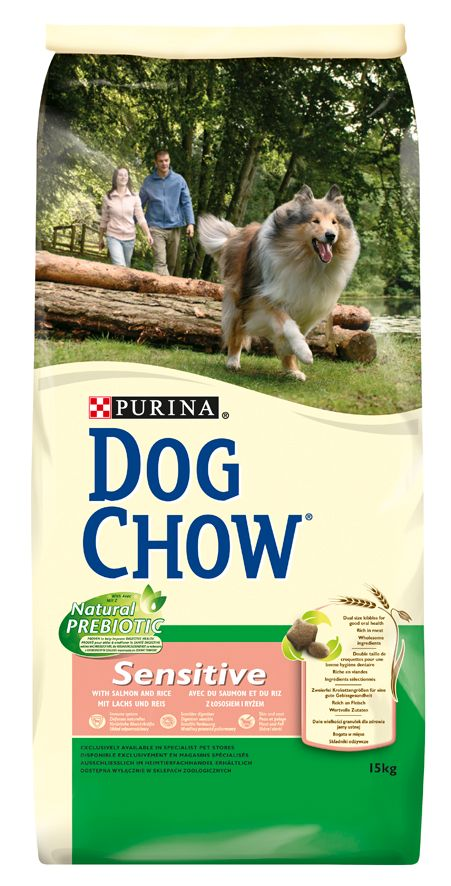 PRO PLAN DOG CHOW ADULT SENSITIVE SAUMON & RIZ