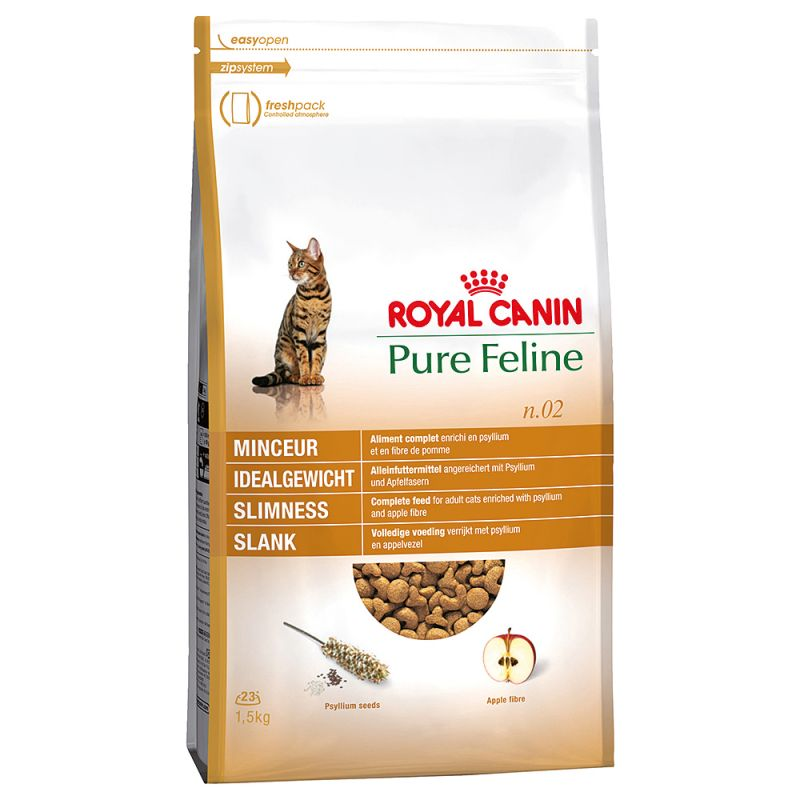 ROYAL CANIN PURE FELINE N°2 SLIMNESS