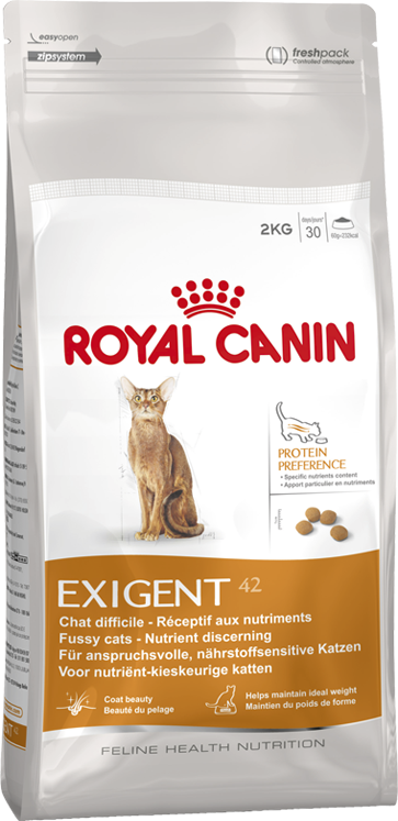 ROYAL CANIN EXIGENT 42 NUTRITION