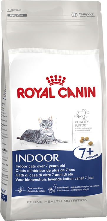ROYAL CANIN INDOOR +7ANS