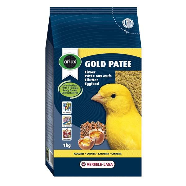 VERSELE LAGA PATEE ORLUX GOLD JAUNE CANARIS