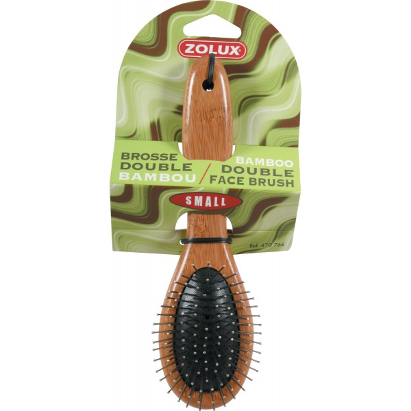 BROSSE DOUBLE BAMBOU SMALL