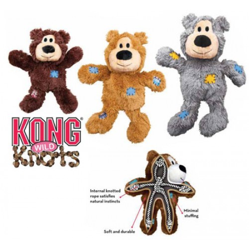 KONG WILDKNOTS BEAR