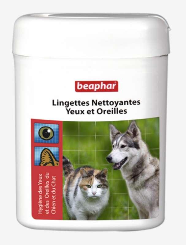 LINGETTES NETTOYANTE YEUX ET OREILLES